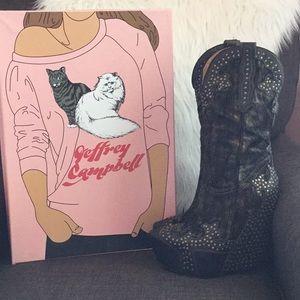 Jeffery Campbell boots (Giddy-Stud)